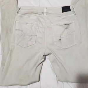 Hirise American eagle skinny sz 4 distressed
